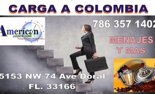 American Logistic, Líder de envío de carga a Colombia 786 357 1402