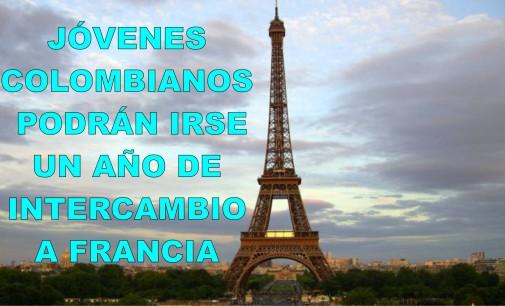 Jóvenes colombianos podrán irse un año de intercambio a Francia