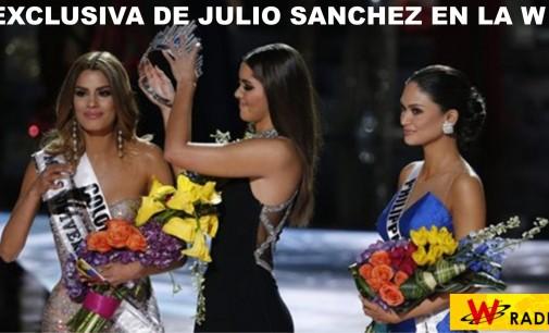 Las confesiones en la  W. Ariadna Gutiérrez la Miss Universo colombiana