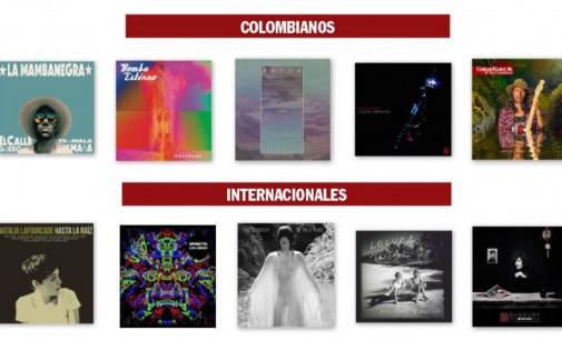 Los mejores discos del 2015 de Colombia