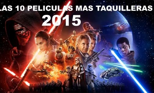 Las 10 películas más taquilleras del 2015