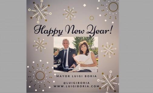 Recibimos saludo navidad alcalde Luigi Boria