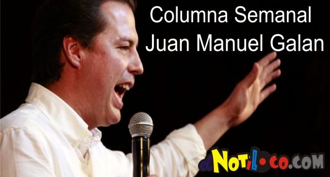 Columna semanal del senador Juan Manuel Galan