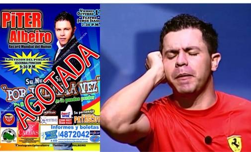 """Piter Albeiro"" contó 10 mil chistes en 101 horas récord Guinnes"