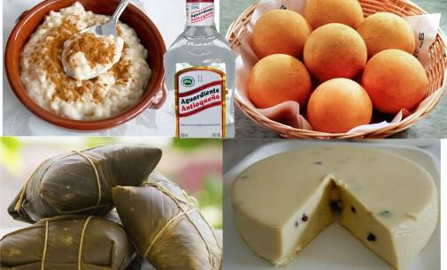 Recetas de Navidad  Arroz leche ,Tamales ,Buñuelos, Natilla,