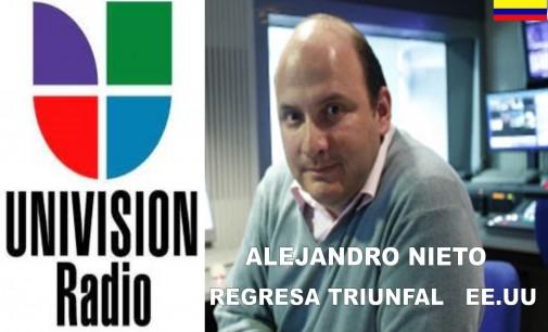 Muere el periodista Alejandro Nieto Molina, gerente general de Univision Radio