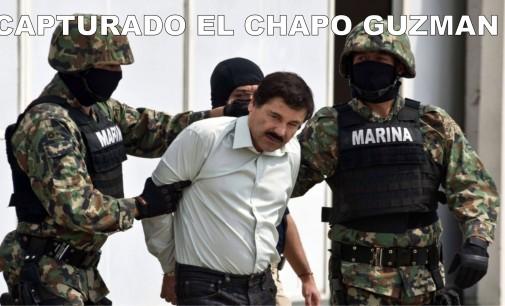 Así fue la captura hoy del Chapo Guzmán en Sinaloa