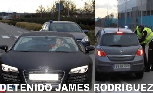 Detenido James Rodriguez (video) por doblar velocidad y no atender llamado de los agentes de seguridad