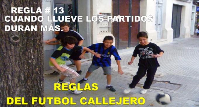 Reglas del futbol callejero 8 el que bota el bal n va for Cuando es fuera de lugar futbol