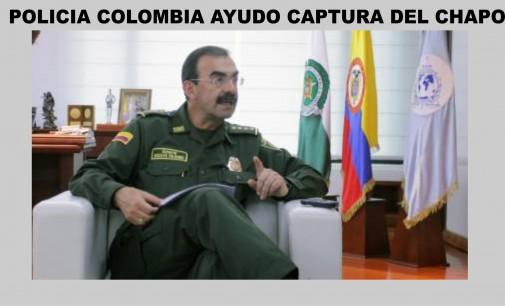 La recaptura de 'El Chapo' contó con asesoría de Policía Colombia: