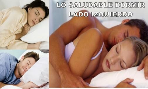 """Dormir al izquierdo trae muchos beneficios """"el campanario"""""""
