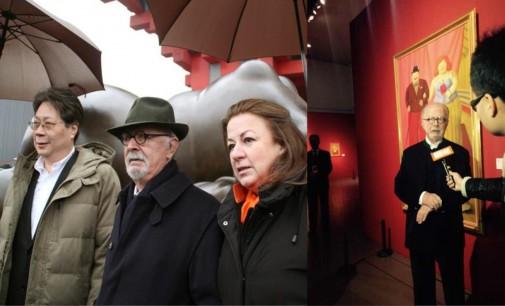 Fernando Botero en charla con Dario Arismendi mas logros en China