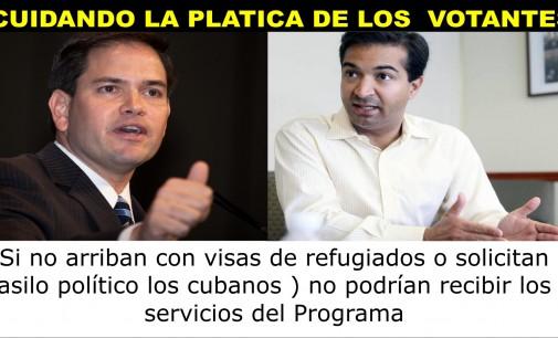 Cubanos que no puedan probar persecución política recibirían el mismo tratamiento que los demás inmigrantes llegados a Miami (Propuesta de Rubio y Curbelo)