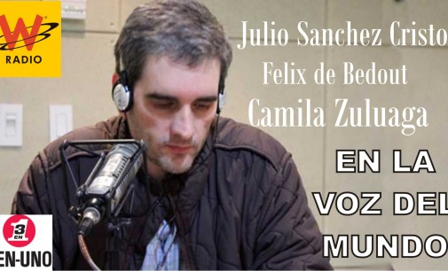 Vuelven a Juntarse Feliz de Bedout, Julito, Camila en la W.