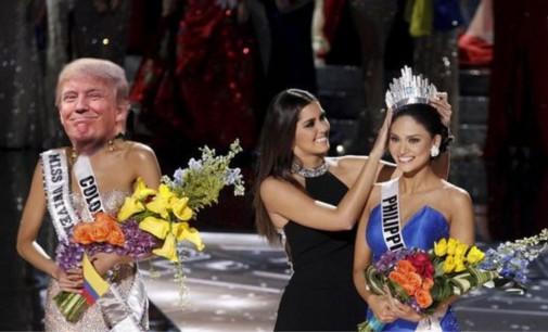 Se burlan de Trump con memes y lo comparan con Miss Colombia