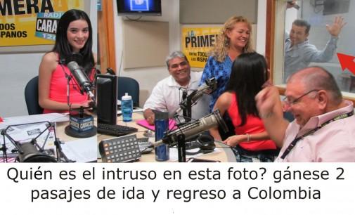 Gane 2 pasajes de ida y regreso a Colombia