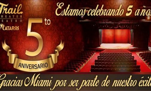 El Teatro Trail, cumplen hoy 5 años y 300.000 espectadores pagando.