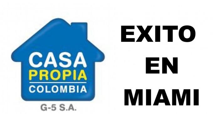 Casa propia Colombia G5 SA se sobro en Miami