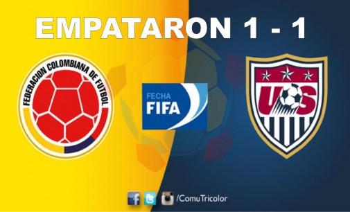 Mal inicio de la Sub 23: empató Colombia  1-1 contra EE. UU. en Barranquilla