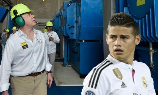James pide a Santos que no lo use más como ejemplo de ahorro de energía