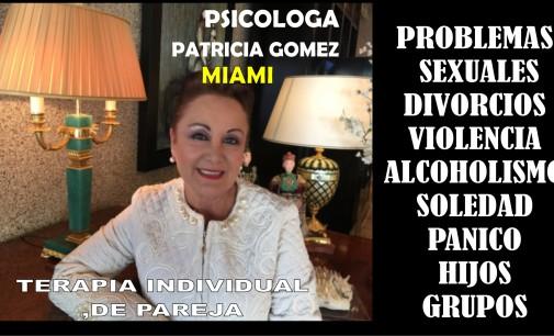 Psicóloga, sexóloga, terapia de pareja, Patricia Gómez