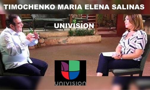 Timochenko, Univisión, Maria Elena Salinas , Kerry entrevista, envía  Zoilo Nieto