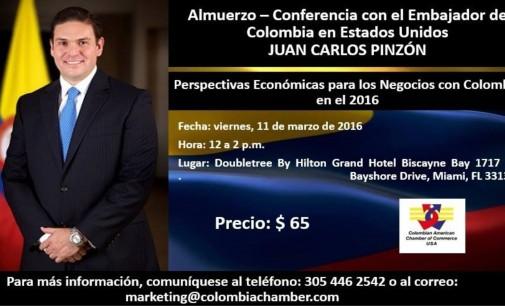 Despeje sus dudas con preguntas al embajador Pinzón en Miami