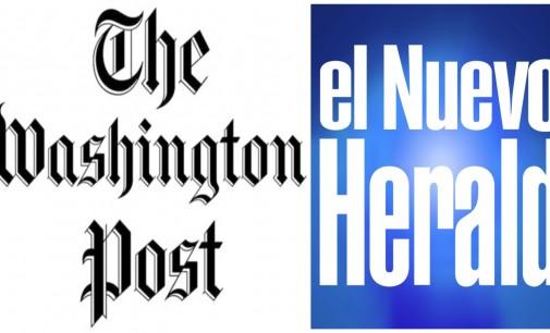 Enrique Córdoba, Herald y Armando Caicedo  Washington Post (Cuba)