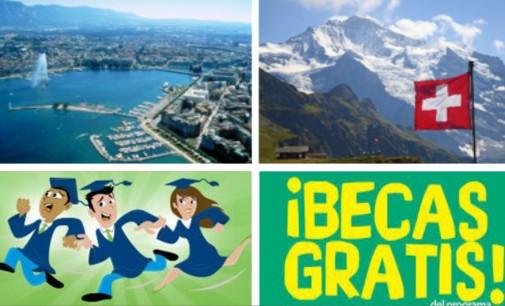 Becas gratuitas para trabajar y estudiar en Suiza