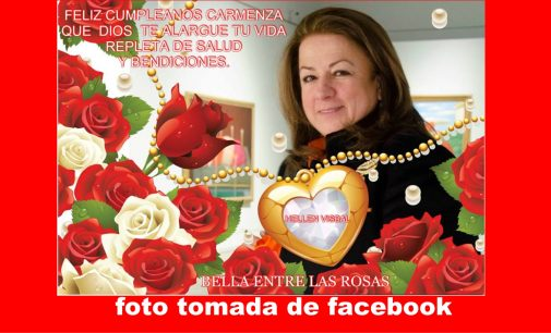 Hoy cumpleaños Carmenza Jaramillo, celebraran en Miami con matada de marrano