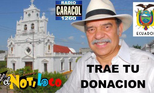 Enrique Córdoba exconsul Colombia en Ecuador recibe donaciones Caracol Miami