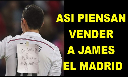 Exclusiva: así vendera el Madrid a James foto