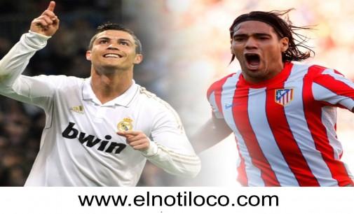 5 goles de Falcao y los 5 goles de Ronaldo en un solo partido