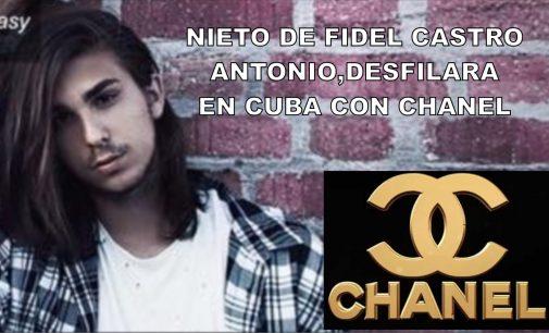 Este es el nieto de Fidel Castro que debutará con Chanel, en Cuba
