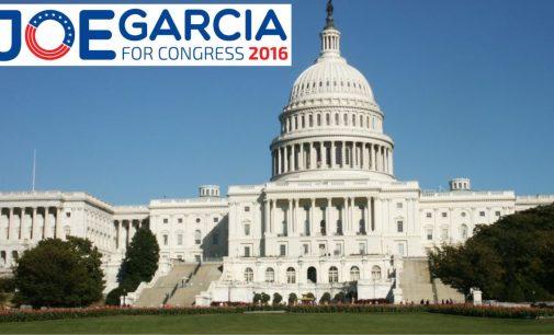 Joe Garcia sobre el dinero que recibe Curbelo de la Asociación Nacional del Rifle
