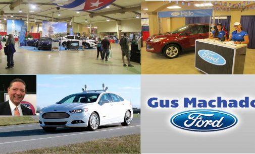 """Video el futuro de los autos Ford  """"ojos"""" láser, por Victor Benitez"""