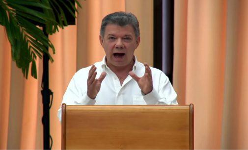 Santos asegura que no autorizó ni sabía de dinero de Odebrecht