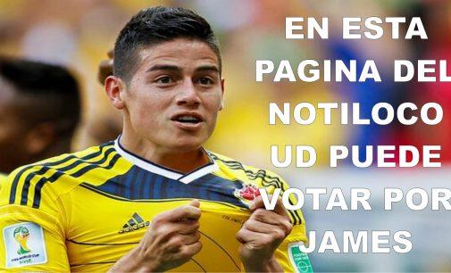 Aqui puedes votar por James Rodriguez para la portada de 'FIFA 17'