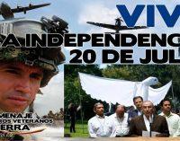 Zanqueros y comparsas por la paz reemplazaran a soldados en desfile de 20 de julio