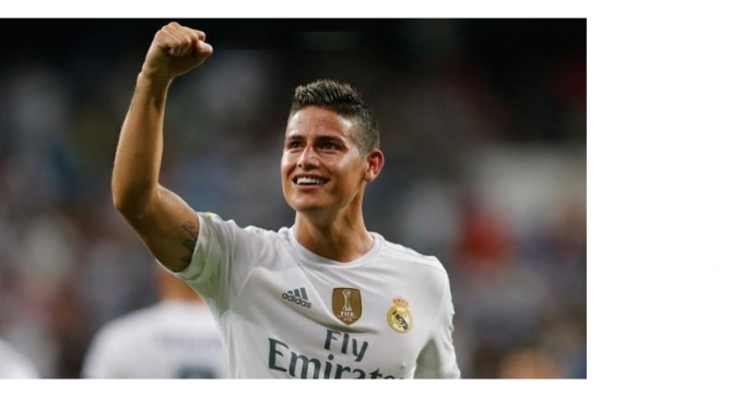 Asi se despidio James del Real Madrid