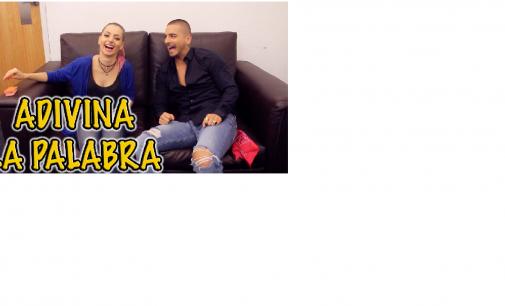 Maluma jugando adivina la palabra con reconocida Youtuber