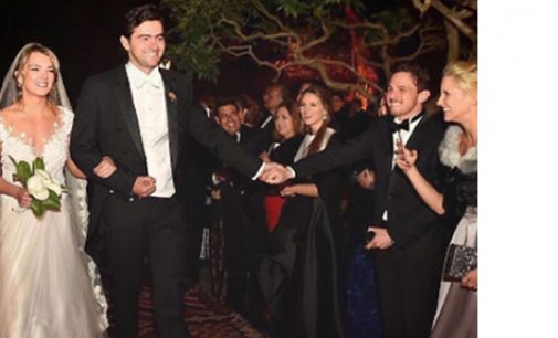 La boda de María Antonieta hija del presidente en el celular de los invitados