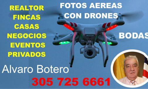 Vendemos su propiedad, con foto aérea o video, la anunciamos aquí en el Notiloco 305 725 6661