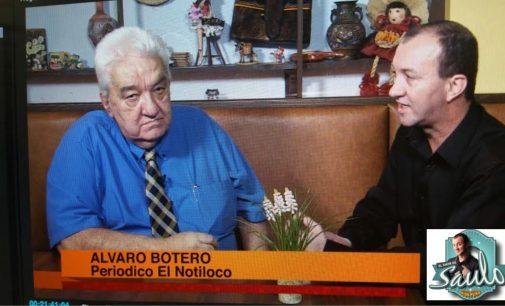 Esta noche por Mega Tv Botero del Notiloco se confiesa en el Sohw de Saulo a las 10 pm