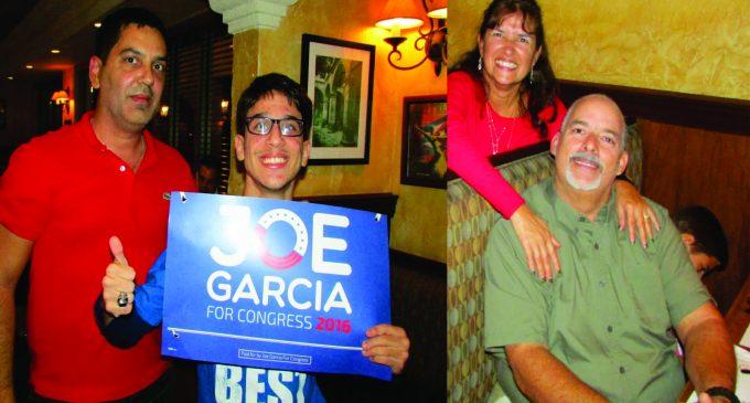 Joe Garcia hizo su campaña por el Notiloco GANO y agradeció a los colombianos por Caracol y también lo agradecio con esta nota