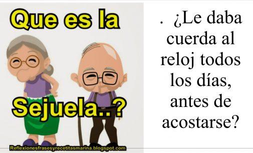 Oyó misa en Latín con el cura de espaldas?  ¿Compró  ropa traída de San Andrés a la señora del barrio ? sejuela.