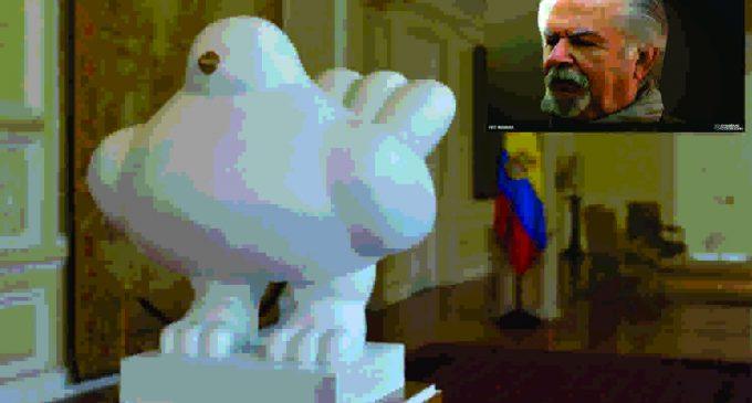 La paloma de Botero, llego de Italia a Colombia