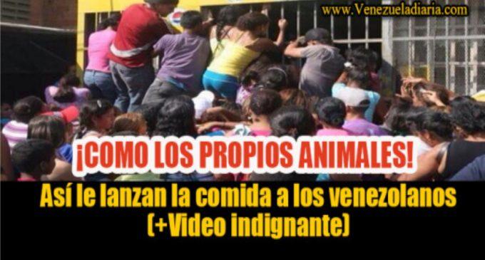 Joe Garcia, se pronuncia al video, como le lanzan comida a los venezolanos y el revocatorio