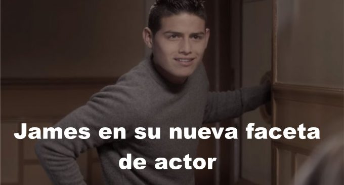 James en su nueva faceta de actor