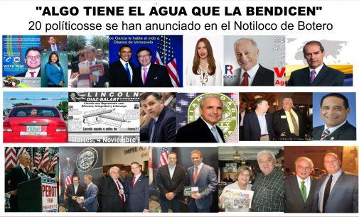 """""""Algo  tiene agua que la bendicen"""" Joe García  se anuncio en el Notiloco, a Santamaría lo aconsejaron mal, Taddeo no salió electa."""